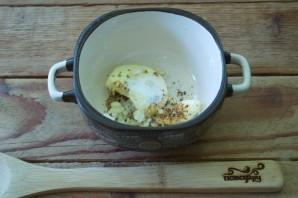 Курица фаршированная (в духовке) - фото шаг 1