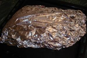 Карп в духовке в фольге - фото шаг 3