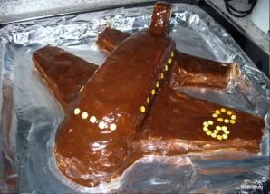 """Детский торт """"Самолет"""" - фото шаг 4"""