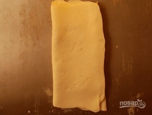 Слойки с сыром и маком - фото шаг 5