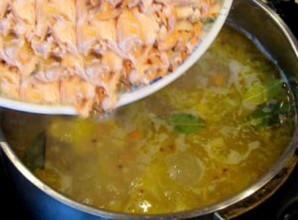 Суп рыбный с рисом - фото шаг 4