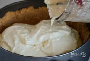 Пирог с ананасами без выпечки - фото шаг 5