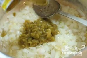 Суп с фасолью и огурцами - фото шаг 6