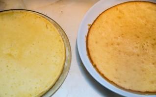 Торт из кусочков бисквита - фото шаг 4