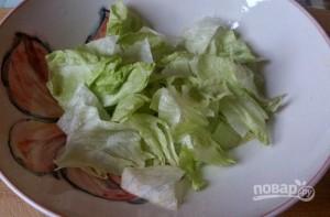 Салат с ветчиной и сухариками - фото шаг 9