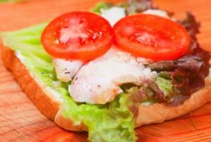 """""""Клаб сэндвич"""" - фото шаг 2"""