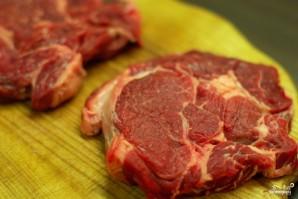 Антрекот из говядины - фото шаг 1