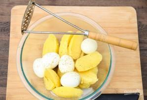 Пюре картофельное с яйцом - фото шаг 2