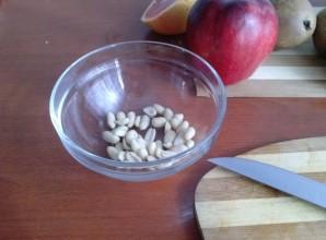 Фруктовый салат с коричневым схаром - фото шаг 2