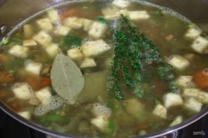 Французский суп из чечевицы - фото шаг 6
