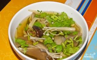 Грибной суп по-тайски - фото шаг 4