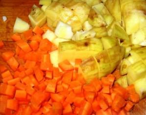 Суп с жареным мясом - фото шаг 3