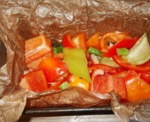 Овощная запеканка с цветной капустой - фото шаг 4