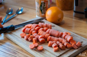 Морковный смузи - фото шаг 2