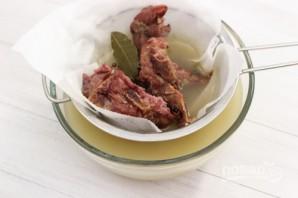Гороховый суп со свининой - фото шаг 2