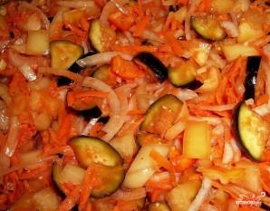 Салат с бобами на зиму - фото шаг 6