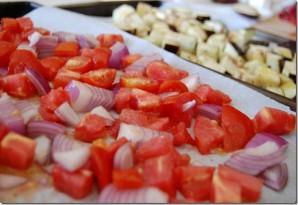 Простой салат из баклажанов - фото шаг 3