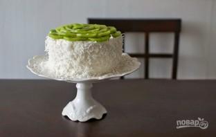 Кокосовый торт с ромом - фото шаг 5