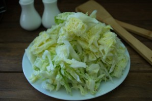 Рагу из кабачков и капусты - фото шаг 2