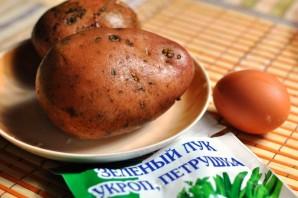 Диетическая картошка в духовке - фото шаг 1