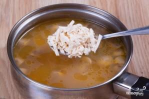 Суп из плавленых сырков с грибами - фото шаг 7