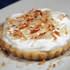 Пирог с кокосовым кремом - фото шаг 4