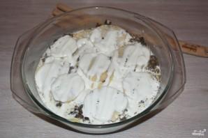 Картошка с шампиньонами в духовке - фото шаг 7