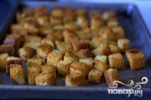 Пудинг из лука и хлеба - фото шаг 2