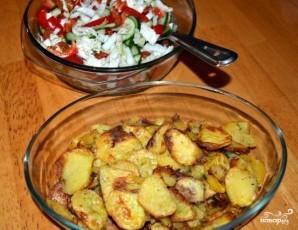Хрустящий картофель в духовке - фото шаг 5