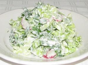 Простой салат из китайской капусты - фото шаг 6