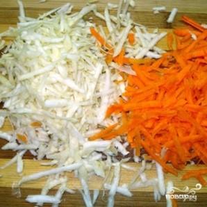 Гороховый суп с копчеными ребрами - фото шаг 7