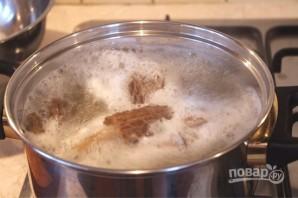 Сморчки на сковороде - фото шаг 2