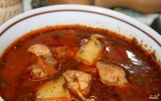 Густой суп со свининой - фото шаг 6