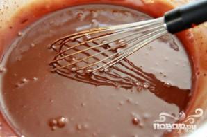 Пирог с шоколадной начинкой и зефирным наполнением - фото шаг 3