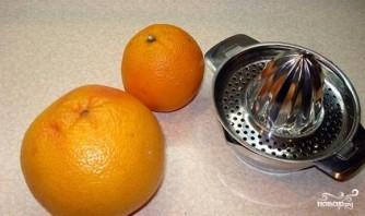 Грейпфрутовый фреш - фото шаг 1