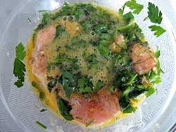 Мясо в кляре на сковороде - фото шаг 5