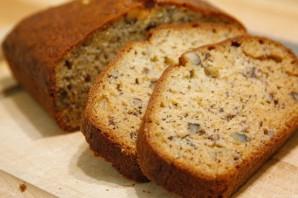 Банановый хлеб с орехами - фото шаг 8