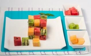 Оригинальный фруктовый салат - фото шаг 3