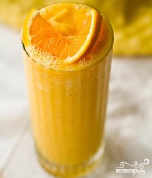 Витаминный напиток Джулиус с апельсином  - фото шаг 4