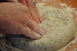 Пицца с картошкой и грибами - фото шаг 4