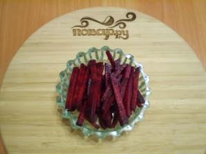 Маринованный лук со свеклой на зиму - фото шаг 2