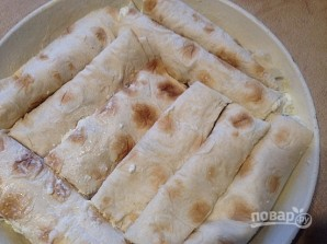 Пирог из лаваша по-домашнему - фото шаг 7