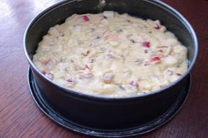 Яблочный пирог с изюмом - фото шаг 9