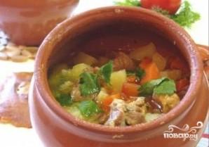 Куриный суп в горшочке - фото шаг 7