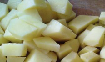 Картофельный суп с луком-пореем - фото шаг 2