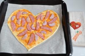 Пицца на 14 февраля - фото шаг 6