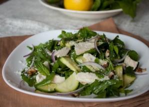 Салат с кабачками и курицей - фото шаг 3