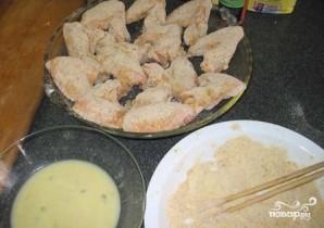 Куриные крылышки в кляре - фото шаг 4