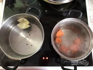 """Рыбный салат """"Раковые шейки"""" - фото шаг 2"""