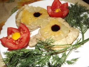 Мясо с ананасами в мультиварке - фото шаг 3